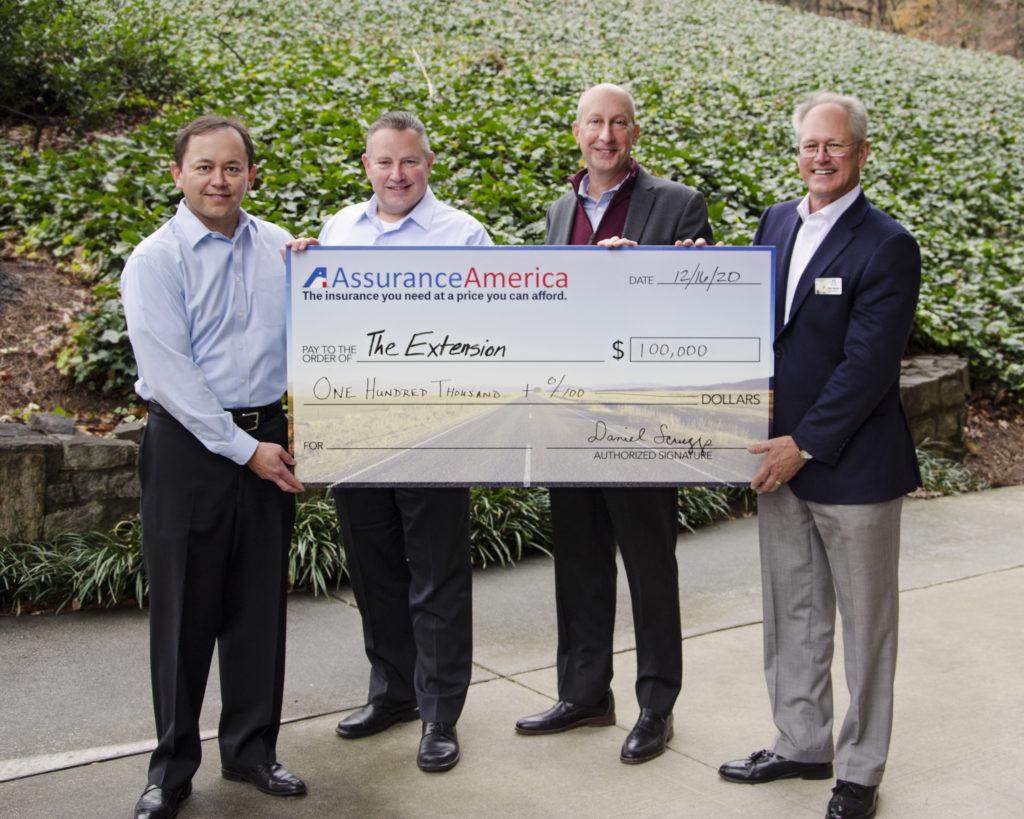 AssuranceAmerica donation